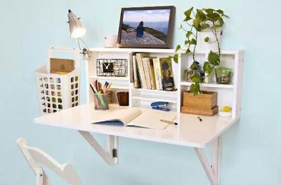 Meja Lipat minimalis dengan gaya yang Menawan