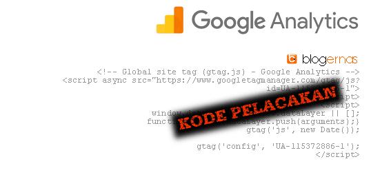 Cara Mendaftarkan Blog & Pasang Kode Pelacakan Google Analytics
