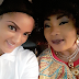 BBN's Gifty pictured with veteran actress, Evangelist Eucharia Anunobi