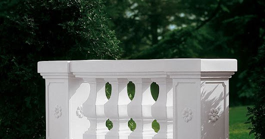 Lightweight balustrade for weddings and events