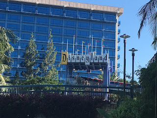 Disneyland Hotel Pool Complex