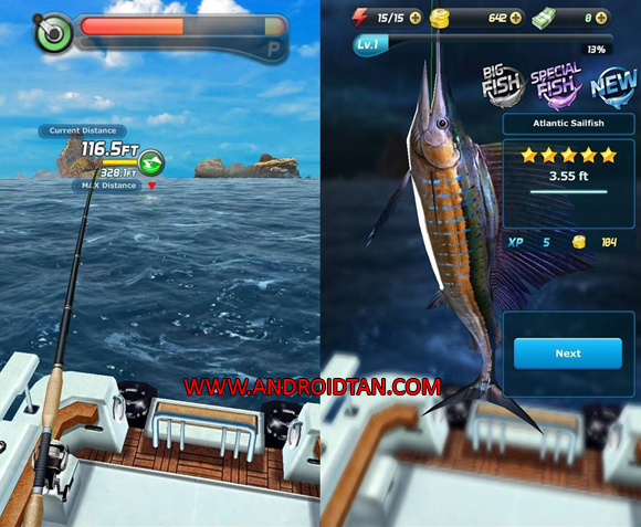 Ace Fishing: Wild Catch Mod Apk Full Latest Version