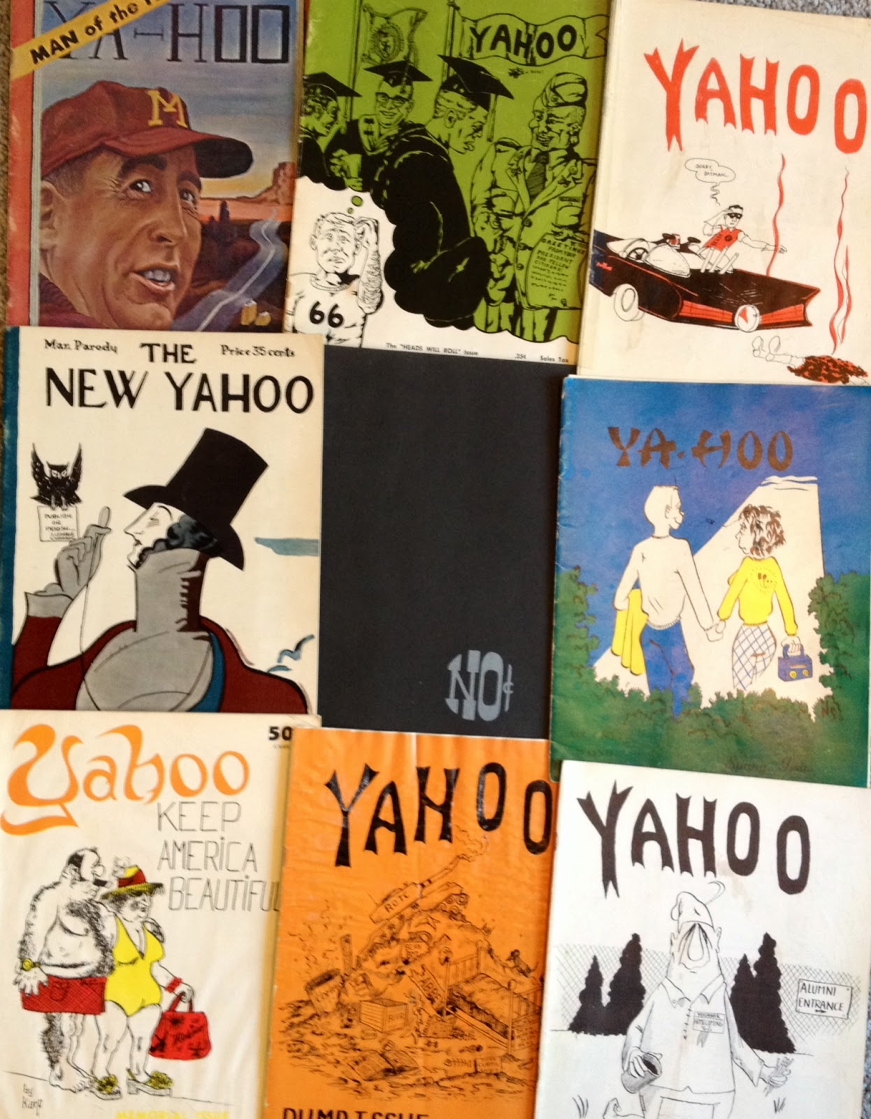 Yahoo cover samples