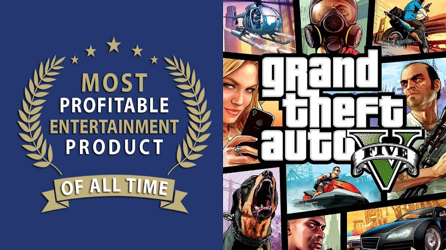 gta 5 most profitable entertainment product ever