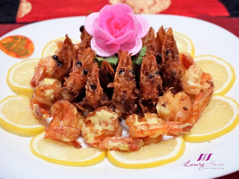 cny crispy yuan yang wasabi prawns recipe