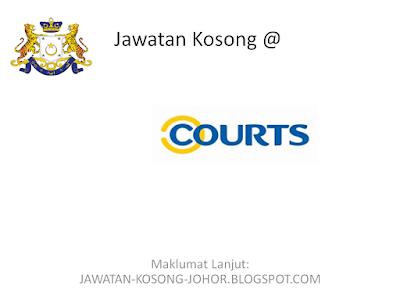 Jawatan Kosong Di Courts (Malaysia) Sdn Bhd
