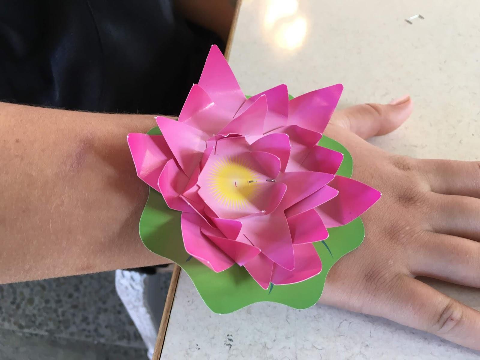 Tamanui Glen Innes School Lotus Flower