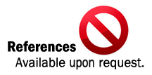 remove references available upon request,