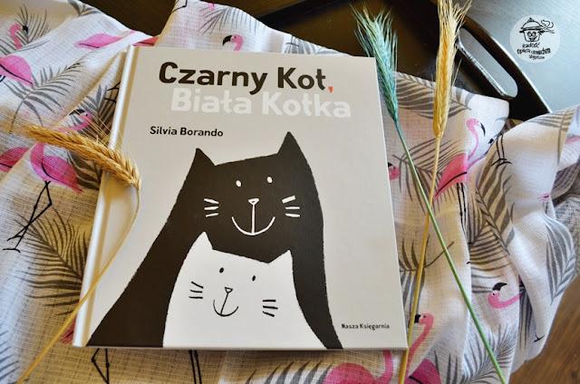 Czarny Kot, Biała Kotka - Recenzja książki.