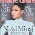 Nicki Minaj kwenye cover la  Marie Claire magazine-karibu tuone hii fashion aliyo vaaa.