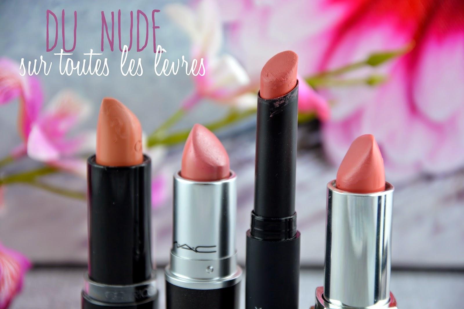 Du nude sur toutes les lèvres pour le printemps