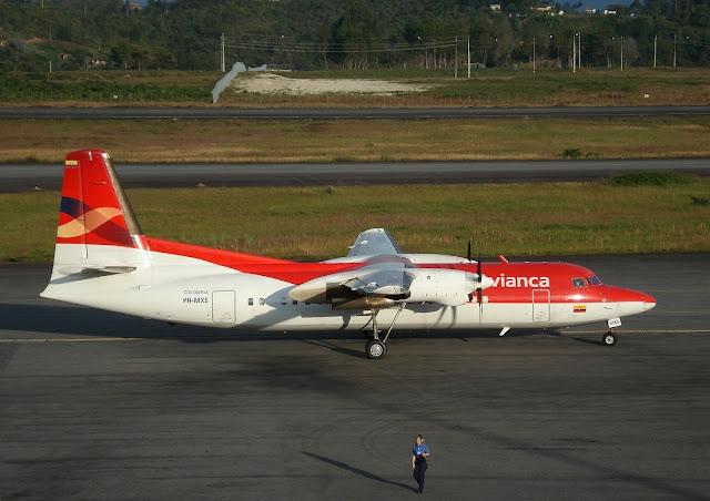 Avianca Airlines Fokker 50