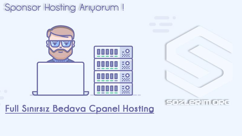 sponsor hosting, bedava hosting, ücretsiz hosting, bedava cpanel hosting, bedava sponsor hosting