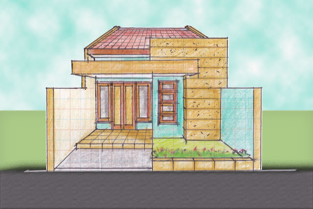 view of house plan A-01
