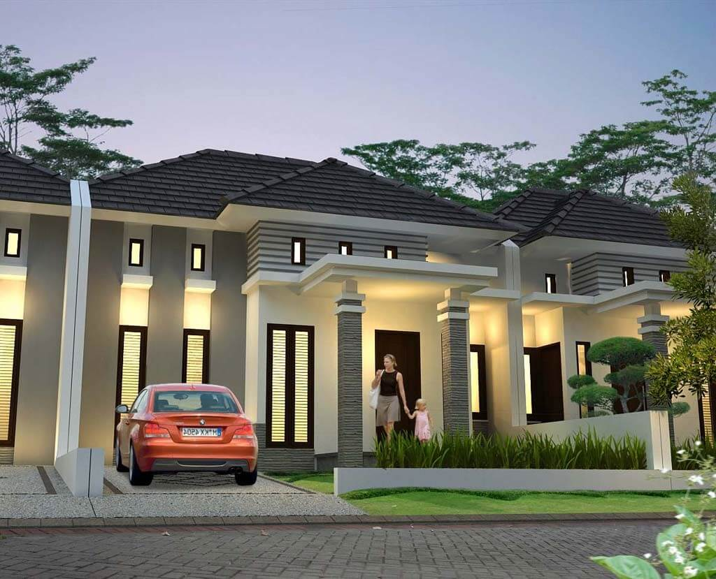 Desain Rumah Mewah Tapi Minimalis Sobat Interior Rumah