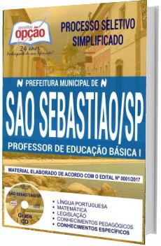 Apostila Concurso Prefeitura de São Sebastião 2017 - Professor de Educação Básica I