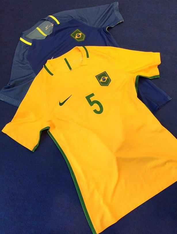 2deab8a51bb5e CBF descarta escudo do Time Brasil e terá bandeira nas camisas das seleções
