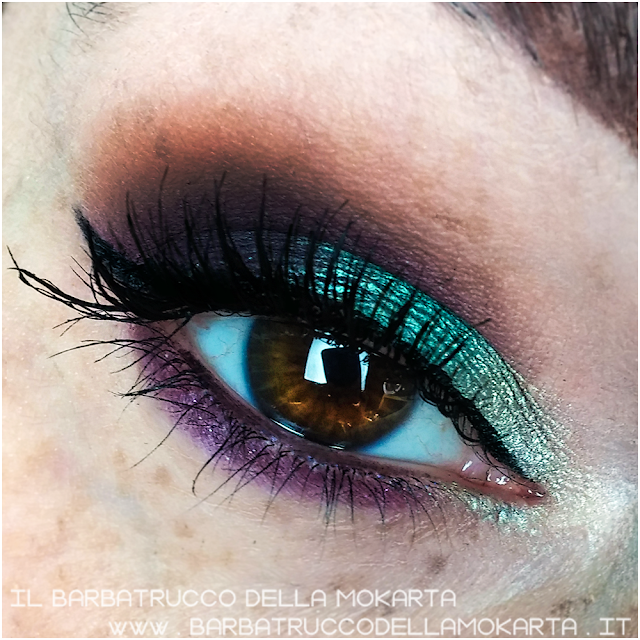 makeup 1 Vibrant eyeshadow review mesauda ombretto cotto perlato green verde