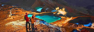 Tongariro National Park Tempat menarik di new zealand