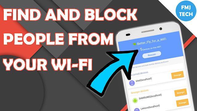 WiFi Blocking App