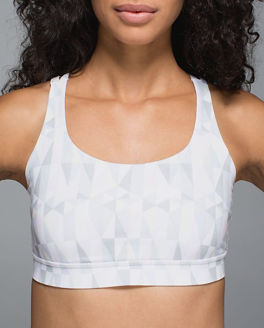lululemon stained glass love energy bra