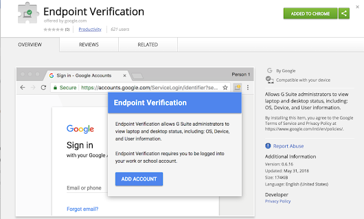 Introducing Endpoint Verification: visibility into the desktops accessing your enterprise applications