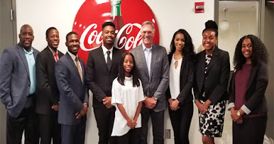 Coca-Cola Foundation HBCU scholarship recipients