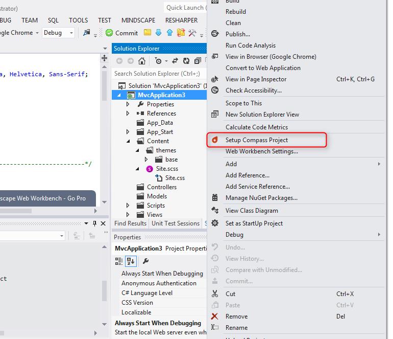 Tikal Knowledge - Using Compass framework with ASP NET MVC application