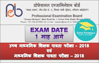 MP Vyapam: High & Middle  School Teacher Eligibility Test - 2018 Date Extended