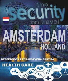 Amsterdam, Holandija – Bezbednost i zdravstvena zaštita