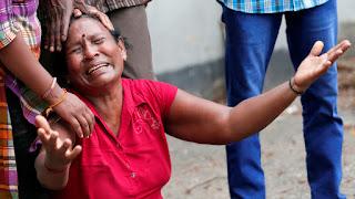 Chega a 207 mortos em ataques durante comemorações de páscoa em igrejas e hotéis no Sri Lanka