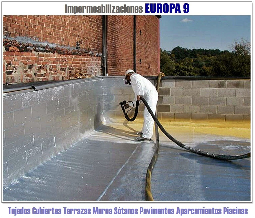 Europa 9 terrazas tejados de tejas azoteas techos cubiertas en valencia castell n y - Impermeabilizacion de tejados ...