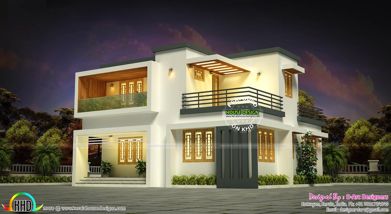 19 lakhs estimated Kerala house plan - Kerala home design ...