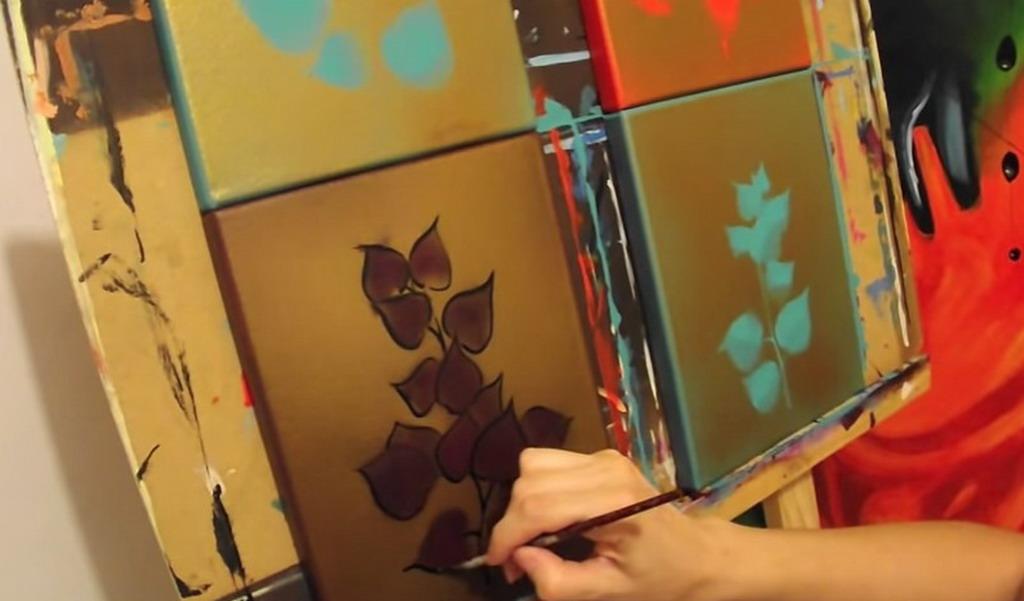 Cuadros Modernos Pinturas y Dibujos Ejemplos de cuadros modernos