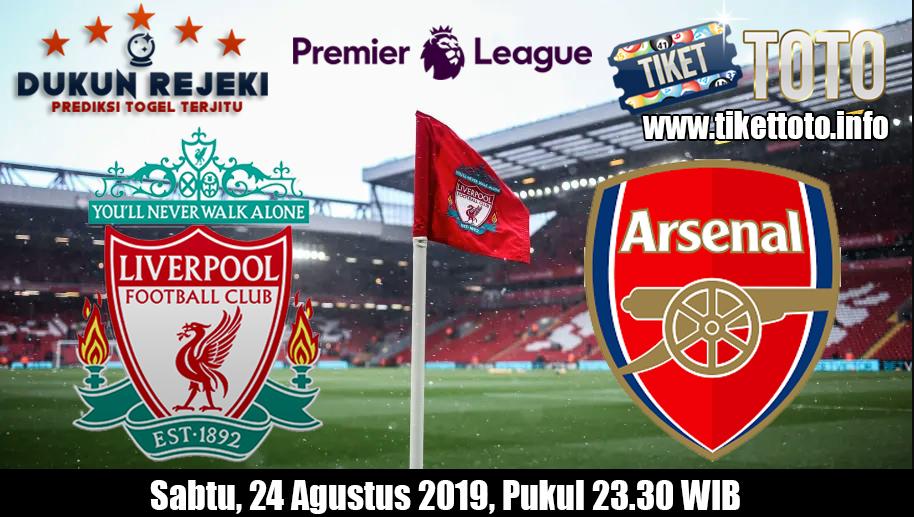 Prediksi Pertandingan Liga Inggris Liverpool VS Arsenal