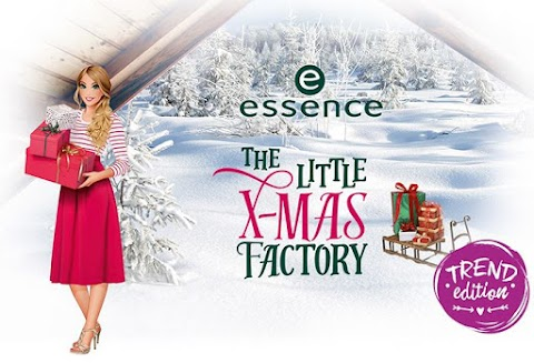 Essence The Little X-Mas Factory Holiday 2016 Collection