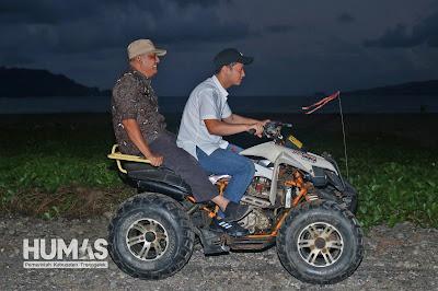 Jelang Buka Puasa, Gus Ipin Susuri Kawasan Wisata Sambut Pemudik Saat Libur Lebaran