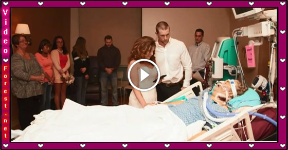 A Loving US Couple Weds at Dying Father's Bedside in Hospital