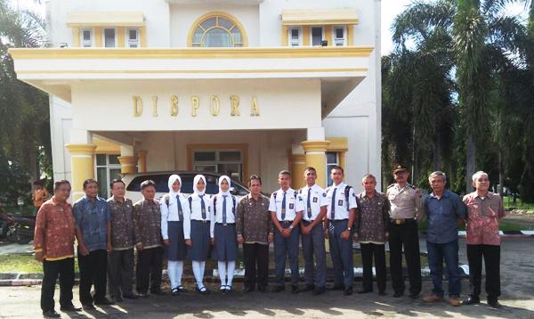 6 Pelajar SMU OKI Ikut Seleksi Paskibraka Provinsi Sumsel