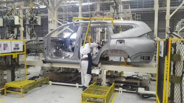 Pabrik Mitsubishi XM Concept di Cikarang