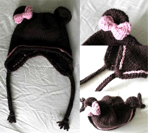 Bear Hat - Free Pattern