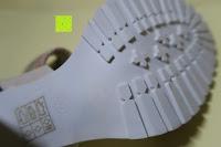 Sohle: Alexis Leroy Blockabsatz Blume gedruckt Damen Offene Sandalen mit Keilabsatz