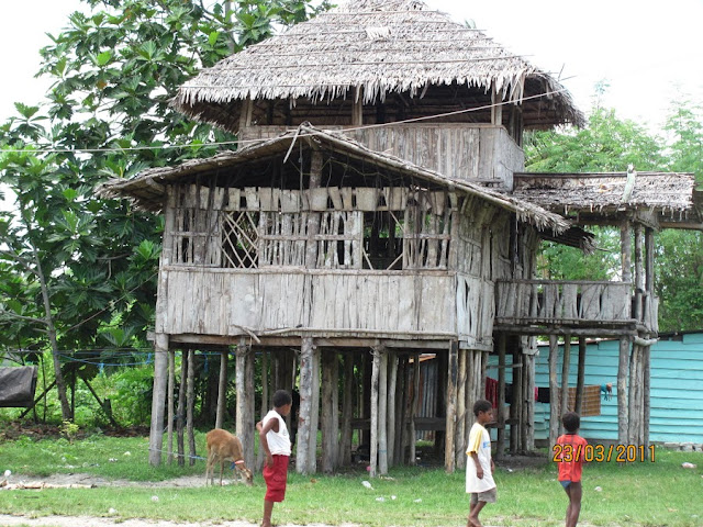 40 Gambar Rumah Adat Di Indonesia Yang Beragam