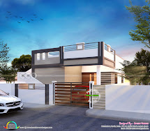 875 Square Feet 2 Bedroom Small Home Design - Kerala