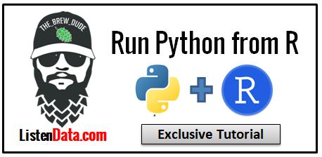 Run Python from R