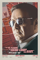 Baby Driver Poster Kevin Spacey