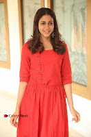 Actress Lavanya Tripathi Latest Pos in Red Dress at Radha Movie Success Meet .COM 0076.JPG