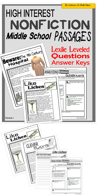 eighth grade ela and seventh grade ela worksheets