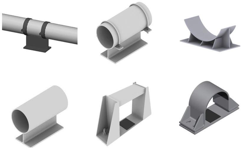 Diseño de soportes en AutoCAD Plant 3D - cadBIM3D