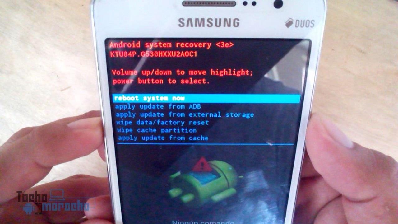 cómo desbloquear \ hard reset Samsung Galaxy Grand Prime